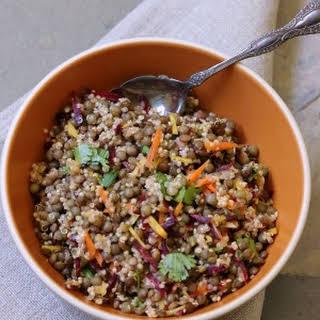 Lentil and Quinoa Salad.