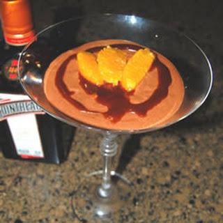 Chocolate Orange Flavored Mousse.