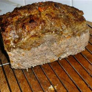 Three-Meat Meatloaf.
