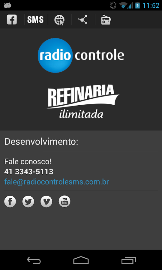 Rádio Fritura - screenshot