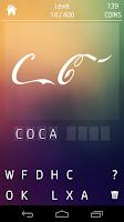 Screenshot of Shadow Quiz Logos