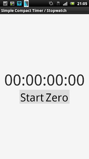 簡單 跑錶 計時器
