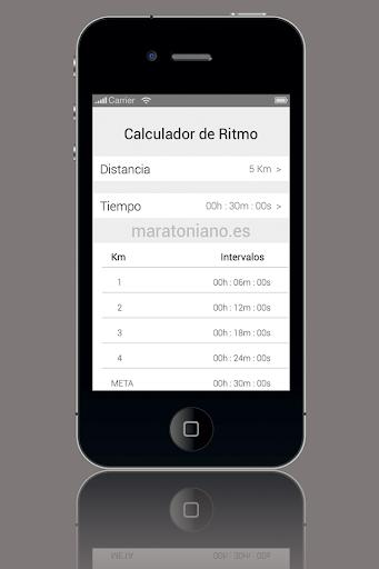Calculador de Ritmo