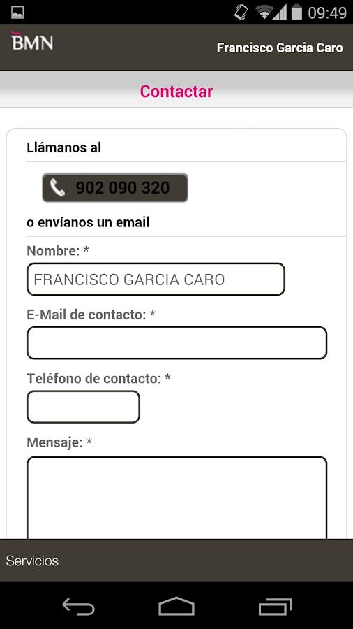 BMN Banca Online- screenshot