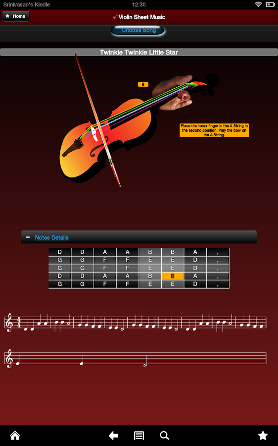 Sheet Music - screenshot