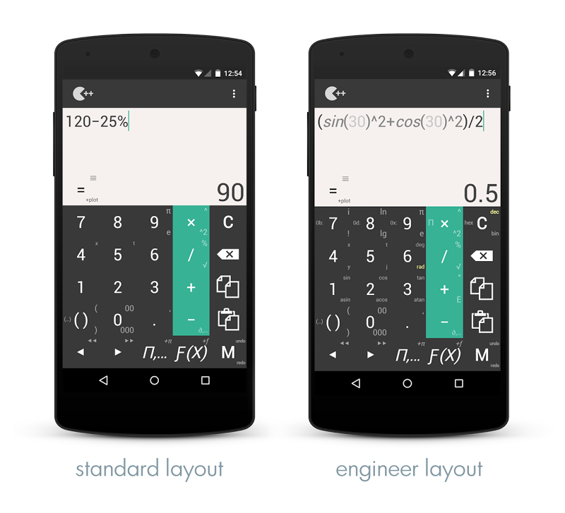 Calculator ++ Screenshot