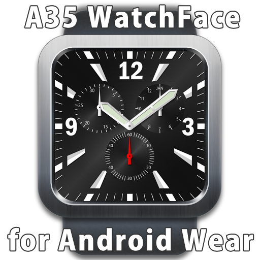 A35 WatchFace for Android Wear- screenshot