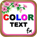 Color Text Fx icon