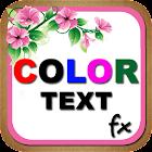 Color Text Fx icon