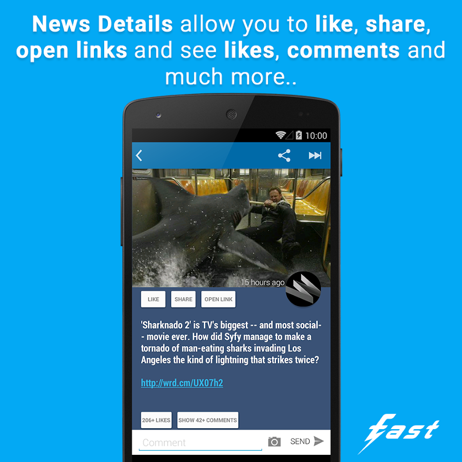 Fast Pro for Facebook - screenshot