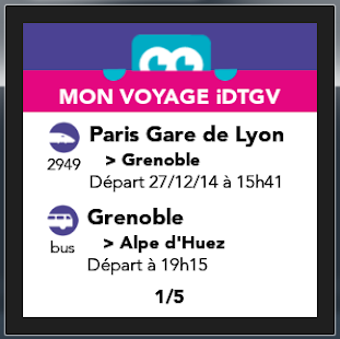 iDTGV Watch- screenshot thumbnail