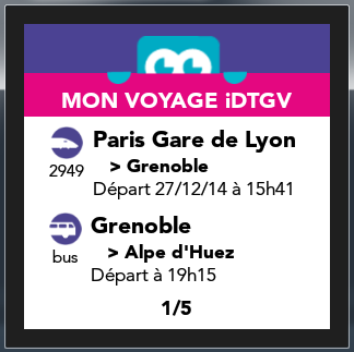 iDTGV Watch- screenshot