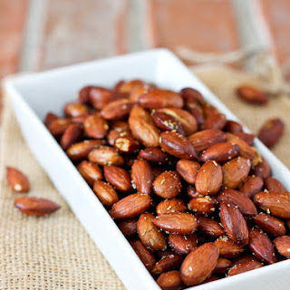 Olive Oil and Rosemary Roasted Almonds