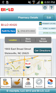 BI-LO Rx - screenshot thumbnail