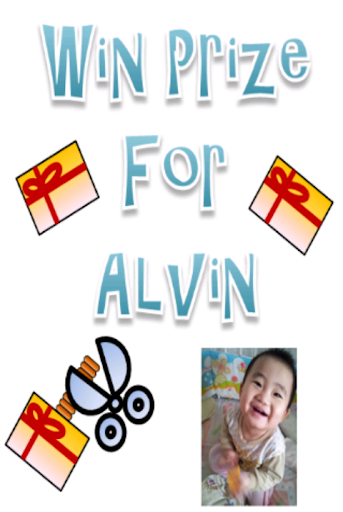 Win Prize For Alvin