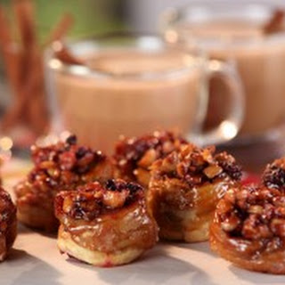 Blackberry-Hazelnut Sticky Buns