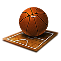Super Hoops : basketball game icon