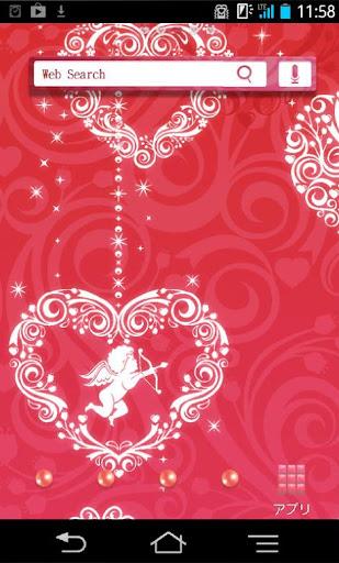 きせかえ壁紙☆Heart Ornaments