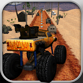 Monster Truck Racing Highway