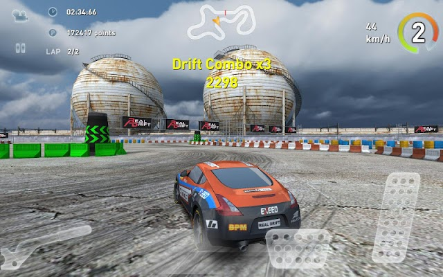 Real Racing Deriva Car - Screenshot