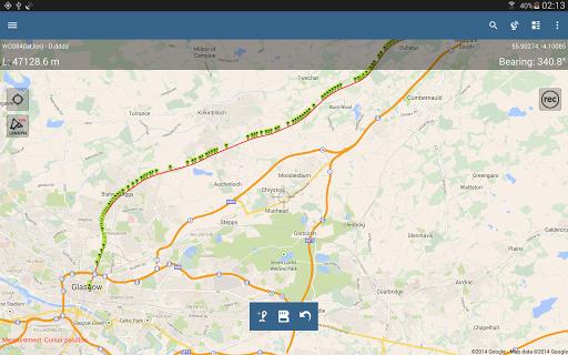 Entfernungsmesser Google Maps : Mappad pro gps landevermessung u apps bei google play