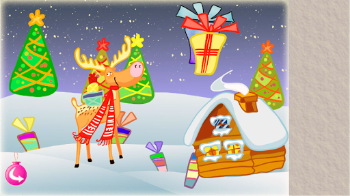 クリスマスの赤ちゃんのパズル2015