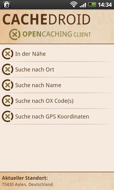 CacheDroid- screenshot