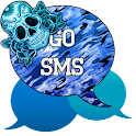 GO SMS - Sugar Skullz 6 icon