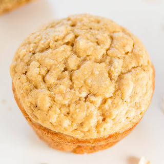 Skinny Oatmeal Brown Sugar Muffins.
