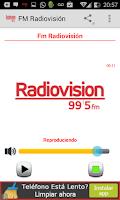 Screenshot of FM Radiovision Comodoro