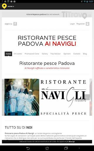 Ristorante pesce Padova