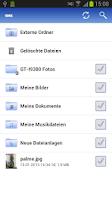 Screenshot of GMX MediaCenter