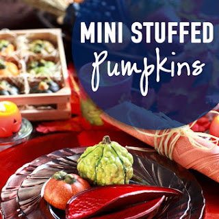 Mini Stuffed Pumpkins an Easy Gourmet Meal