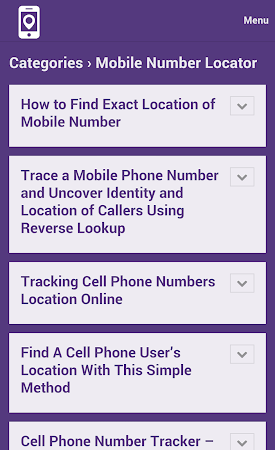 Mobile Number Tracker Tips 1.0 screenshot 9979