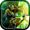 Fantasie-Puzzle-Spiele