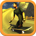 Skateboard Racing Free icon