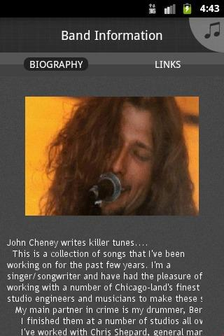 john cheney - screenshot