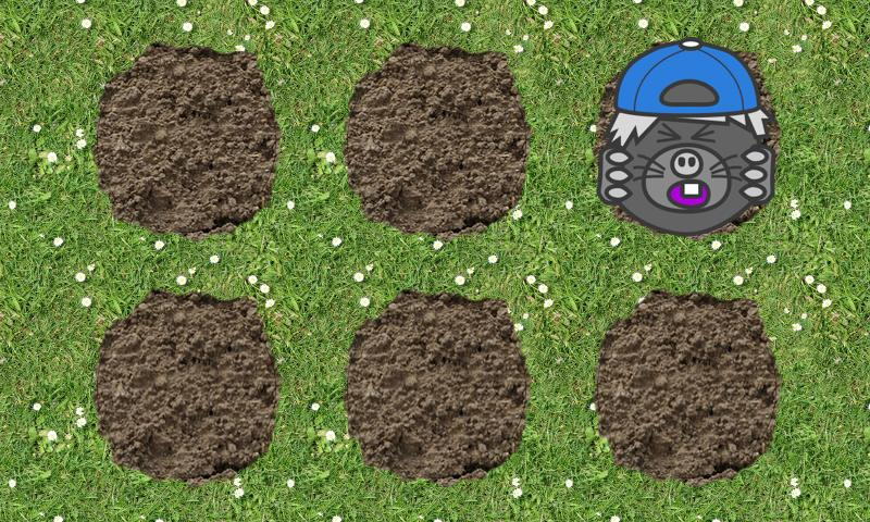 Toddler Tap-A-Mole- screenshot