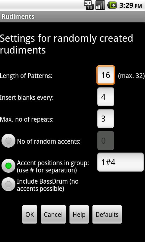 Rudiments - screenshot