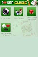Screenshot of ABC Poker Guide
