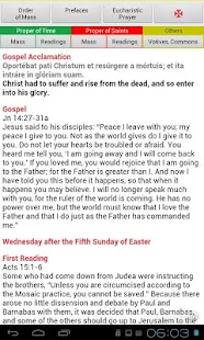 Roman Missal (Catholic)- screenshot thumbnail