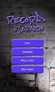 Record Scratch Simulation- screenshot thumbnail