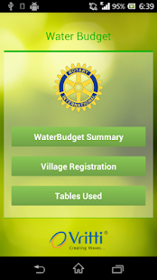 WaterBudget- screenshot thumbnail