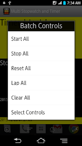 Multi Stopwatch & Timer  free screenshot 4