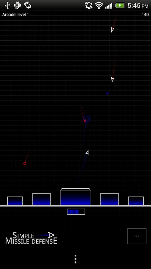 Simple Missile Defense- screenshot