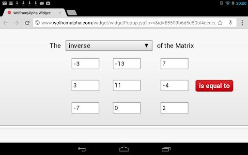 Matrix Inverse Calculator