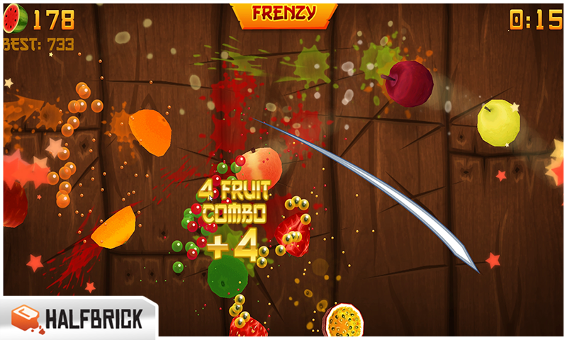 all free games to play fruit ninja