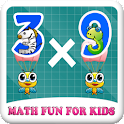 Math Fun for Kids icon