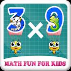 Math Fun for Kids icon