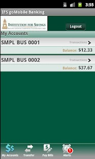 IFS goMobile  Banking - screenshot thumbnail